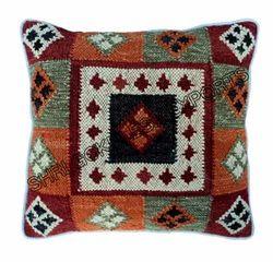 Kilims Multicolor Wool Kilim Cushion Cover