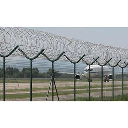 Galvanized Iron Boundary Fencing
