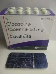 Clozapine 50 mg Tablets