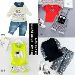 Multi Purpose Fancy Kids Wear, Age: 0- 4 Years
