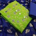 Party Wear Cotton Ladies Unstitched Salwar Suit Material