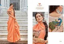 Triveni Launch Aarchi Fancy Designer Ethnic Wear Saree Catalog