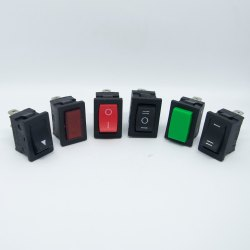 Mini Rocker Switches