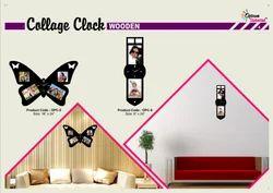 Decorative Wall Collage Clocks