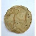 Light Brown Round Salty Rice Papad
