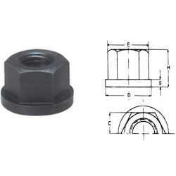 APEX Hex Flange Nut, Size: M12, for Industrial