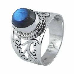 Labradorite 925 Sterling Silver Rings