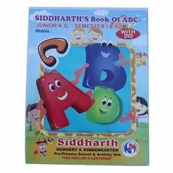 2 To 5 Ravi Pancholi Junior Kg Alphabet Book