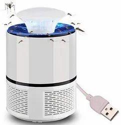 USB Mosquito Killer Lamp / Electric Anti Mosquito Trap / LED Bug Zapper Black