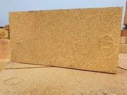 Alumina Refractories Fire Bricks, Size: 9 In. X 4.5 In. X 3 In, for Side Walls