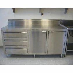 Base Barrier Commercial Kitchen Cabinet