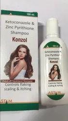 Ketoconazole & Zinc Pyrithione Shampoo