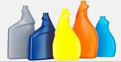 Colored Plastic Bottle
