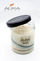 AuraDecor Body Massage Candle