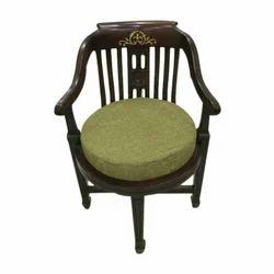 Mangalam Furnitures Teak Wood Wooden Chair