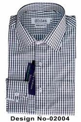 Shisa Black Checks Regular Fit Shirt