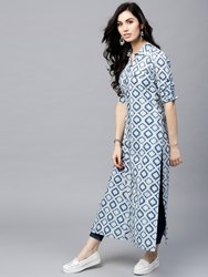 Ladies Printed Ethnic Kurti