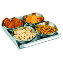 Stainless Steel Designer Dry Fruit Platter
