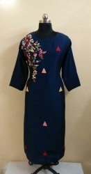 Designer Embroidery Work Kurti For Womens