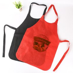 Polyester Printed Disposable Aprons For Kitchen, Size: Available In M, L