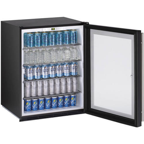 Metal 3 Star Glass Door Undercounter Refrigerator Compact Rs 45000