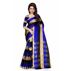 Women's Wear Cotton Silk Kitkat  Saree