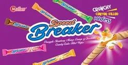 Speed Breaker Crunchy Center Filled Wafers