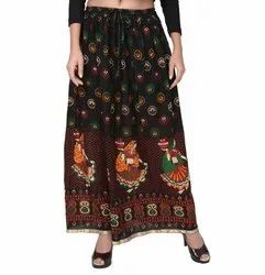 Printed Designer Skirt