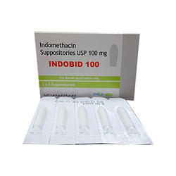 Indomethacin Suppositories 100mg