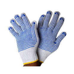 Seamless Dotted Gloves