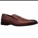 Brown Bata Formal Shoes For Men, Size: 7