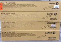 Genuine Xerox Phaser 7800 CMYK Toner Cartridge Set