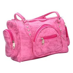 Ladies Stylish Pink Hand Bag