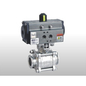 Triclover Ends 2 Way Ball Valve