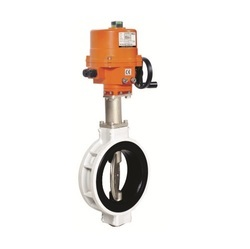 Electric Actuator Operated Aluminium Butterfly valve