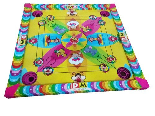 Multicolor 2 in 1 Carom Board 20/20