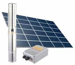Tata 1HP-AC-Submersible Solar Water Pump
