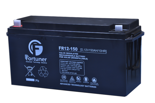 Fortuner Solar Batteries, Capacity: 200 Ah, Rs 189 /piece Fortuner | ID:  19027757148