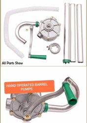Hand Operated Drum Pump, Model Name/Number: MEHOBP