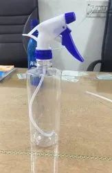 Empty Plastic Spray Bottle 500 ML For Sanitizer