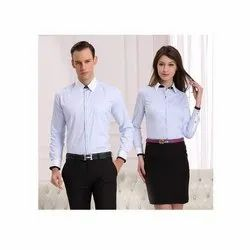 Polyester Cotton Corporate Staff Uniform, Size: XL