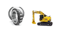 JCB Excavator Bearing Set
