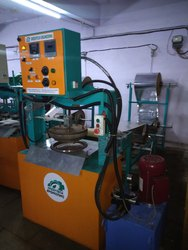 Automatic Hydraulic Thali Making Machine