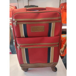Red Tommy Hilfiger Day Fore Trolley Bag, For Travelling