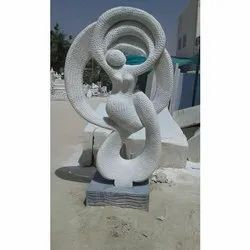 Stone Carved Handcraft Women Statue