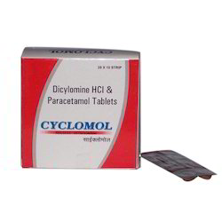 Dicylomine HCI And Paracetamol Tablets
