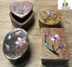Soap Stone Rectangle Box 4''