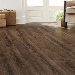 Brown Matte Wood Laminate Flooring, for Floor, Thickness: 2 - 12 Mm