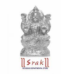 Parad Lakshmi Murti (l x w x h) 5 cm x 3 cm x 5 cm