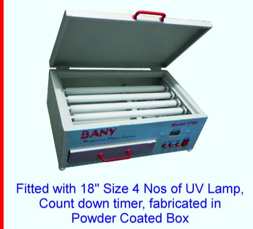 Supratik Automatic Polymer Stamp Making Machine Production Capacity 100 200 Rs 5000 Piece Id 21085116062